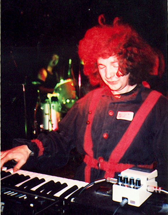 Kazz on keys, Eternal Flame, Millstone Tour 1991